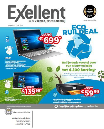 Onze Exellent IT folder van maart, boordevol fantastische  promoties